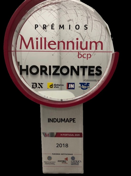 Indumape was awarded with Millenium Horizontes